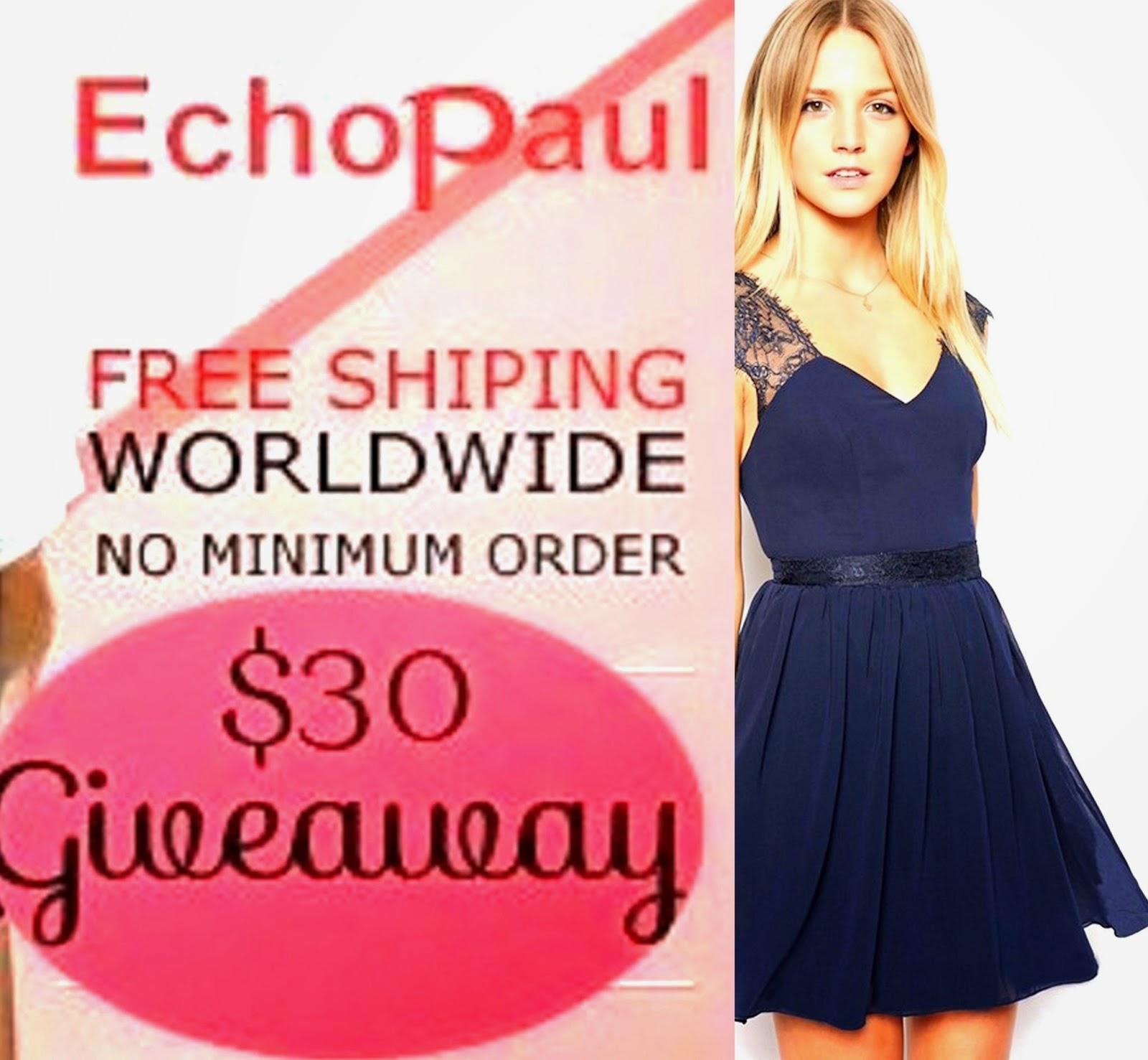 Echopaul $30 Fall Giveaway