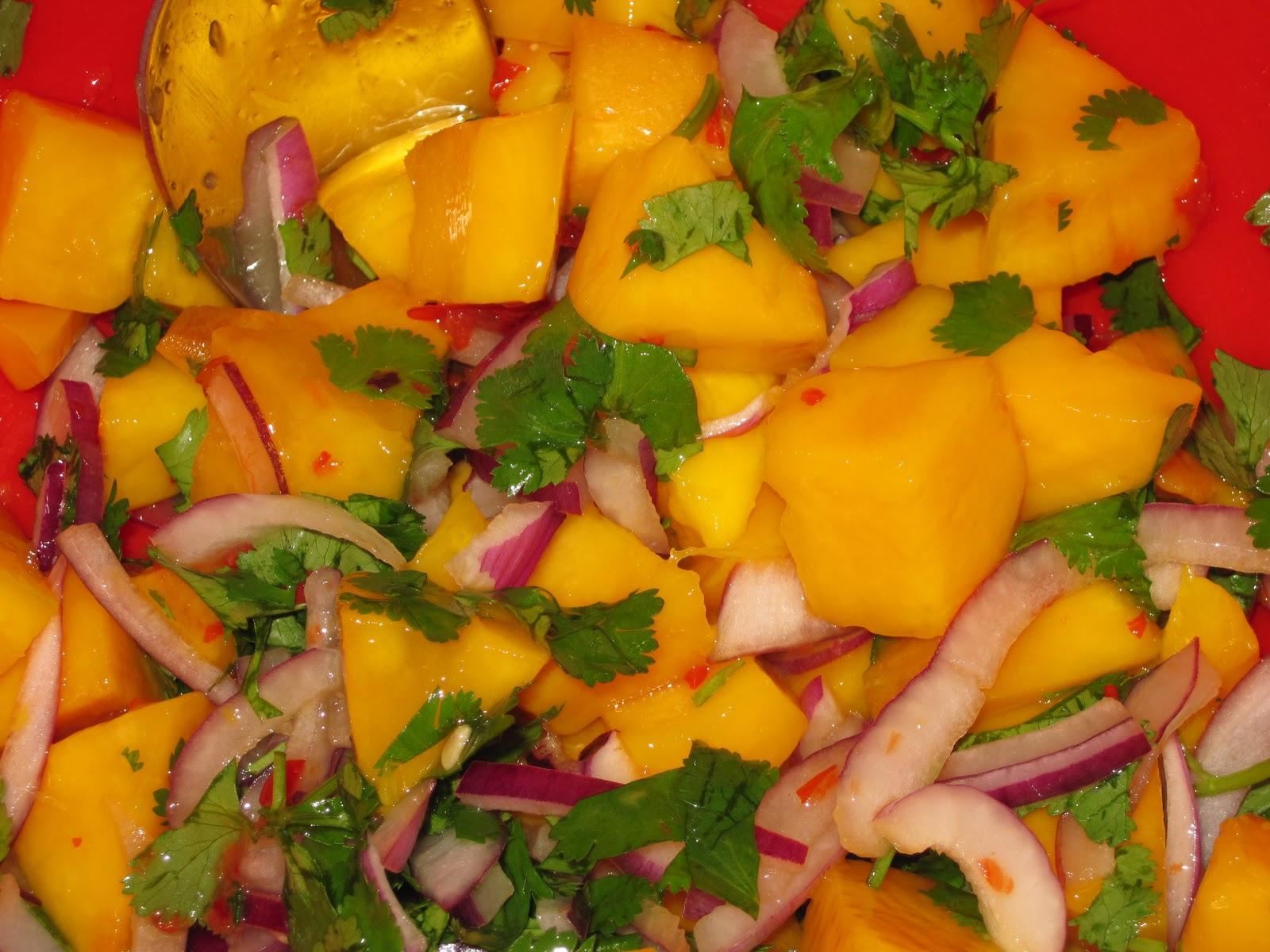 mango salsa opskrift