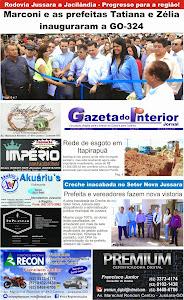 VEJA A EDIÇÃO Nº 58 DO JORNAL GAZETA DO INTERIOR