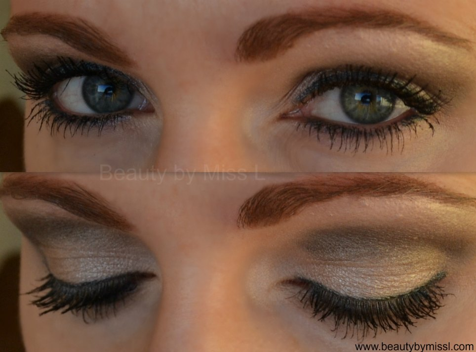 grey eye makeup look via @beautybymissl