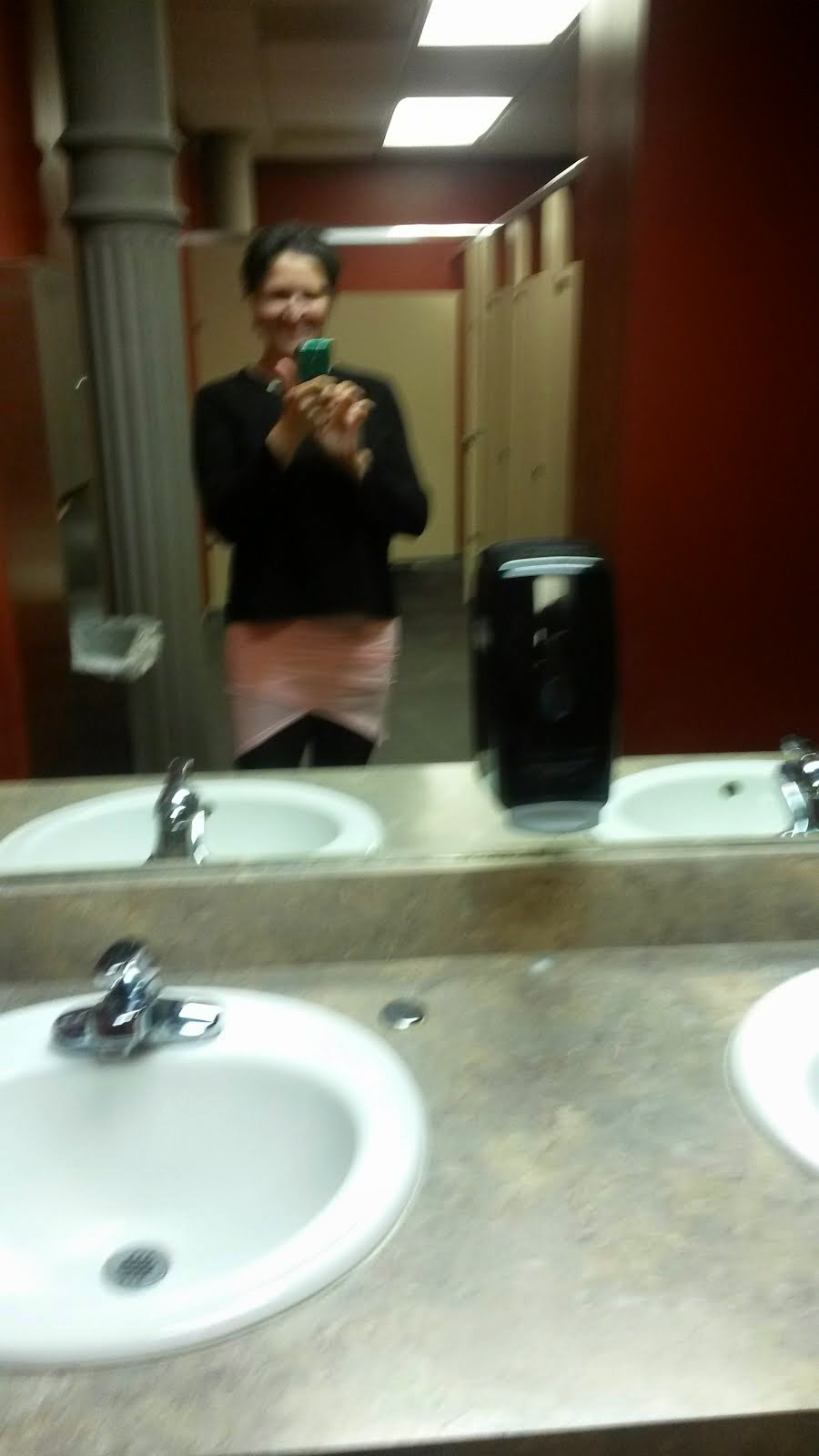 In The Restroom in the RME