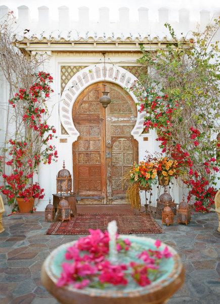 Una boda con inspiraci n rabe bodas - Decoracion marruecos ...