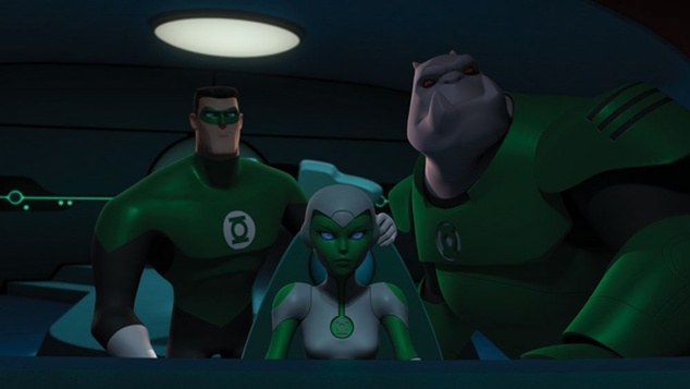Hal, Aya and Kilowog investigate why The Greatest American Hero totally ripped off Hal&#39;s costume.