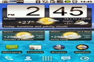 widgets na tela consomem energia