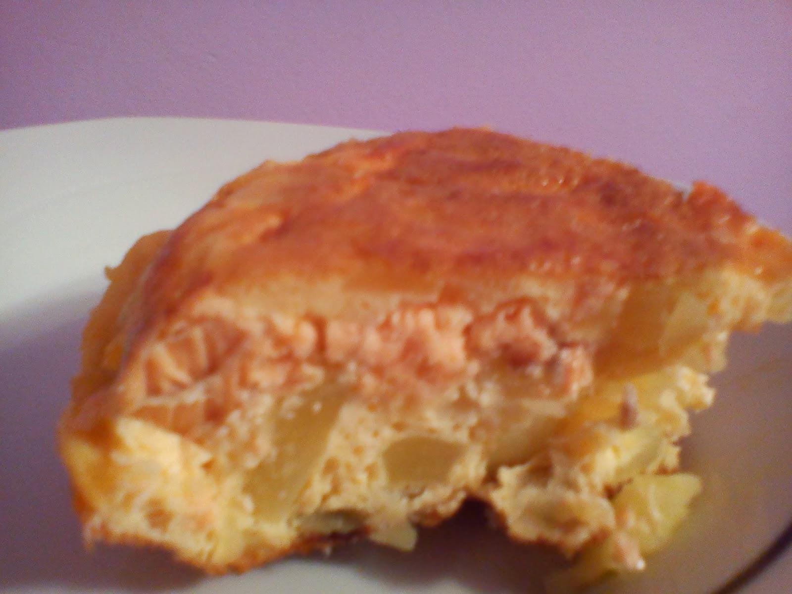 Tortilla de salmón