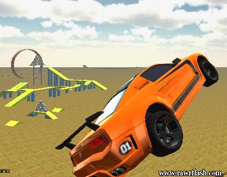 Jogos de carro e corrida: Madalin Stunt Cars. Multiplayer online.