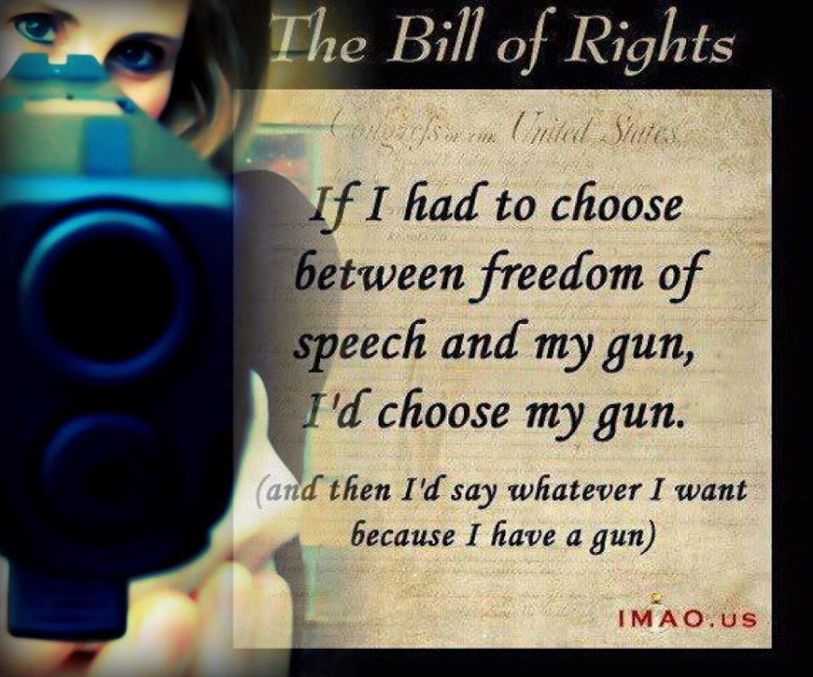 gun control and the bill of rights Gun rights and gun control, however, have lived together since the birth of the country americans have always had the right to keep and bear arms as a matter of state constitutional law.