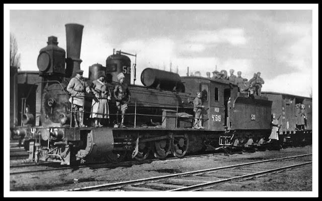 legión checoslovaca, guerra civil rusa, tren vladivostok