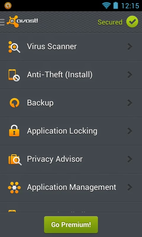 avast! Mobile Security & Antivirus v3.0.7550 Premium Patched
