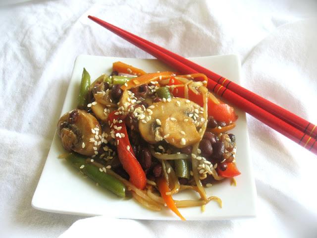 Asian stir-fry