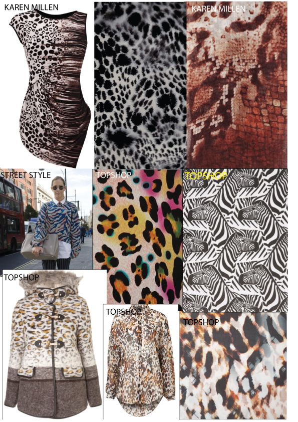 animal print, snakeskin, print, leopard print ss13 pattern,topshop