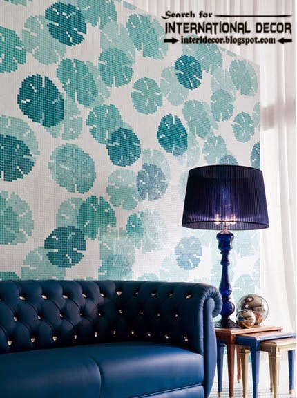 fashionable wall tiles,wall tiles patterns, blue wall tiles design