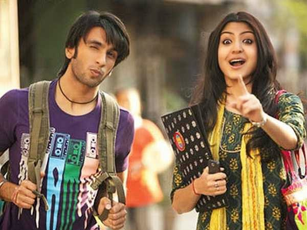 ranveer and anushka as college students