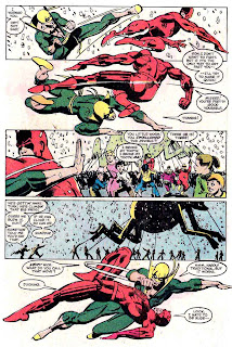 Daredevil v1 #178 marvel comic book page art by Frank Miller
