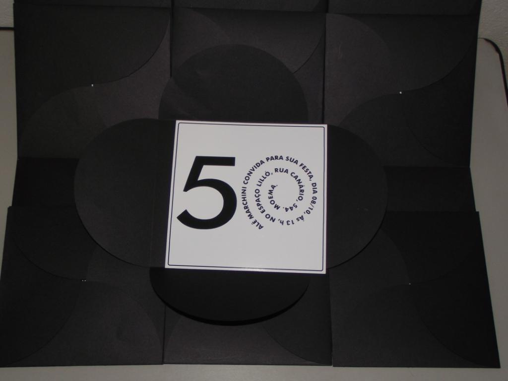 Convite de Aniversario 50 Anos Feminino Convites de Aniversário 50