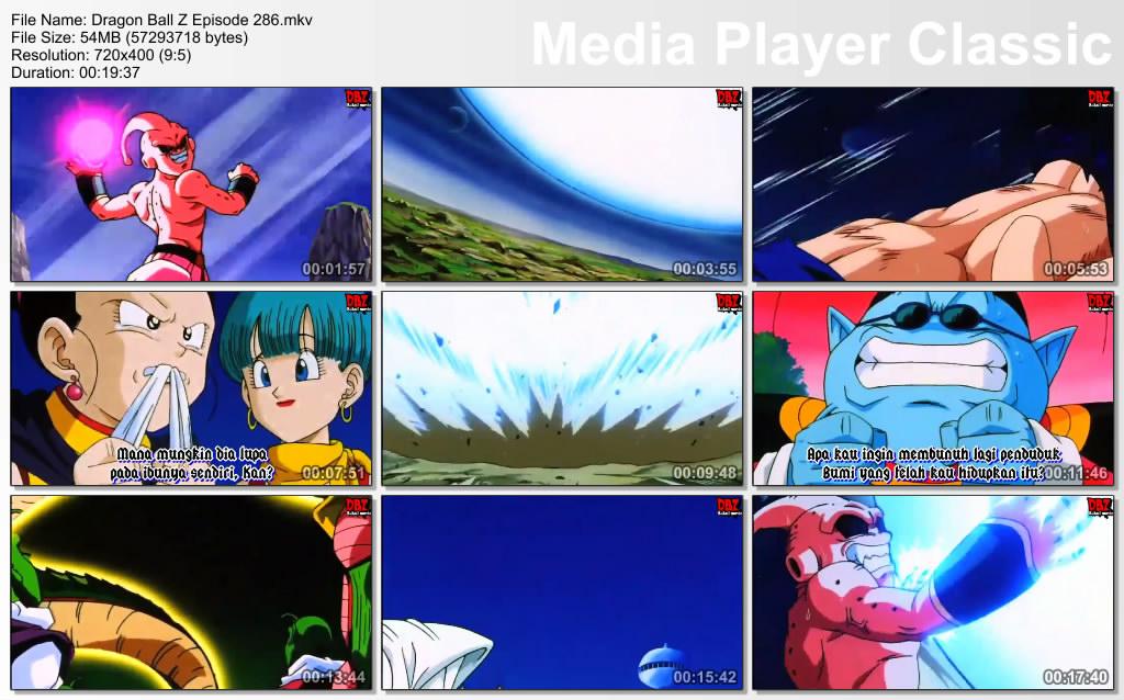 Download Film / Anime Dragon Ball Z Majin Buu Saga Episode 286 Bahasa