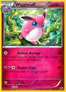 Wigglytuff Pokemon X and Y Card