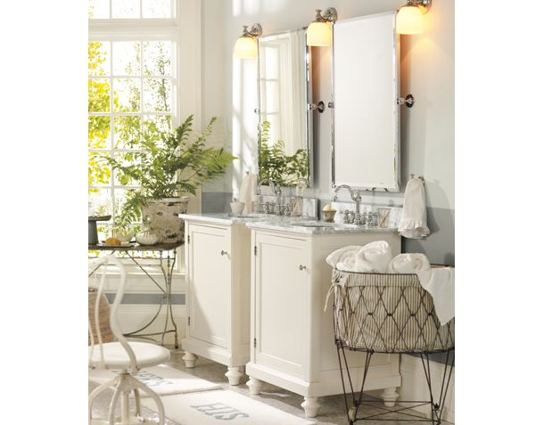 Bathroom dreams a la pottery barn Bath barn