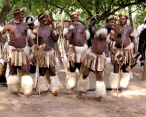 Zulu Tribe Location My English Intentions:...