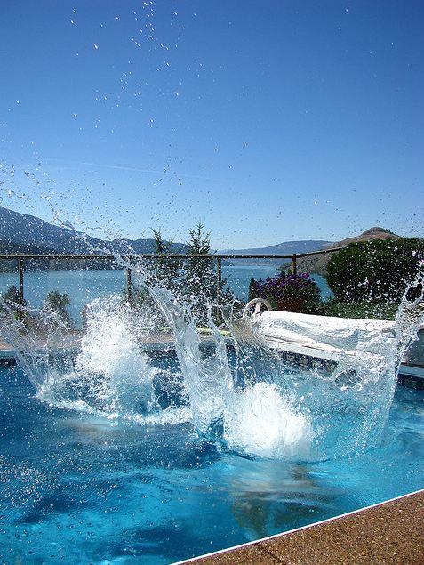 Pool Splash Cannonball aqua-blue pools, spas & bath fixtures