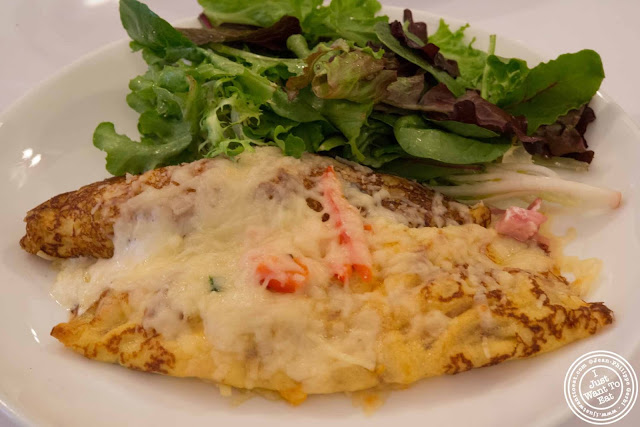 image of Ham and cheese crepe at Jacques Brasserie , NYC, New York