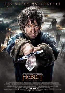 Poster de El Hobbit 3: La Batalla de los Cinco Ejercitos