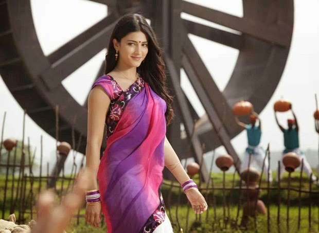 S, Shruti Hassan, Shruti Hassan Hot pics, HD Actress Gallery, latest Actress HD Photo Gallery, Latest actress Stills, Telugu Movie Actress, Tollywood Actress, Saree pics, Half Sari photo Stills, Shruti Hassan Telugu movie actress Half Saree & Saree Still