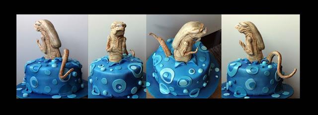 chestburster cake