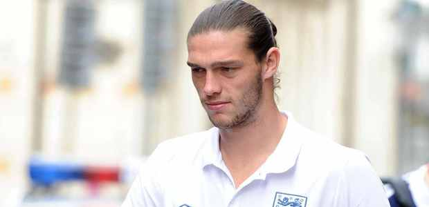 England and Liverpool player Andy Carroll