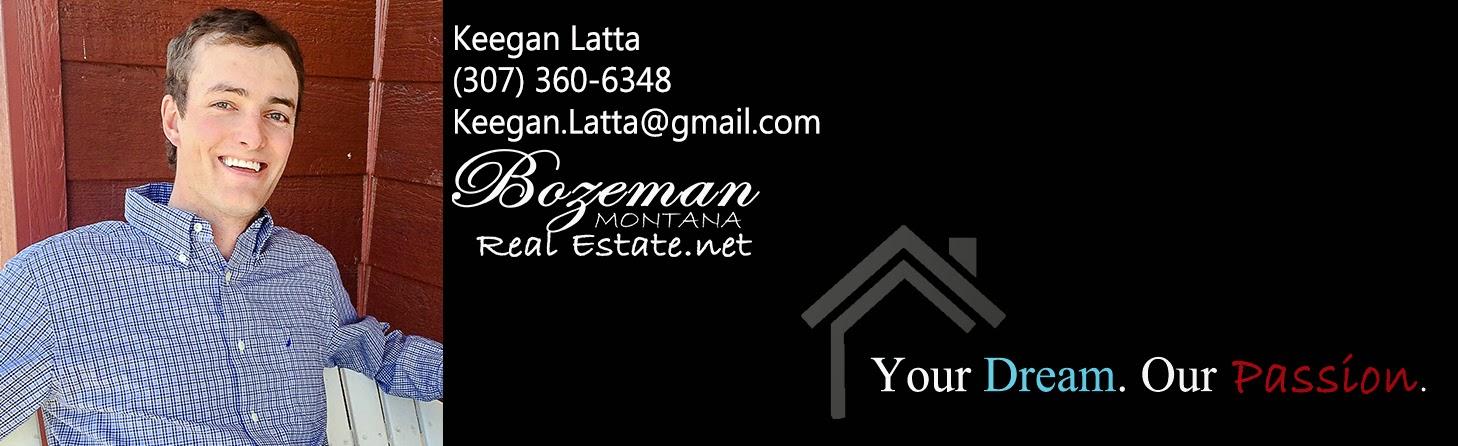 Keegan Latta Bozeman Montana Real Estate .net