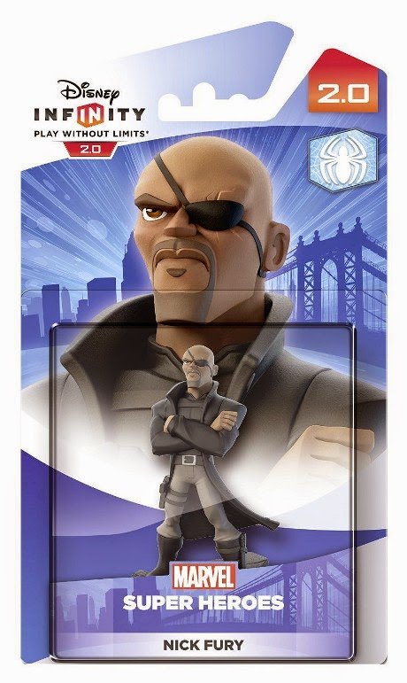 TOYS : JUGUETES - DISNEY Infinity 2.0 Figura Nick Fury - Furia : Marvel Super Heroes Producto Oficial | A partir de 7 años