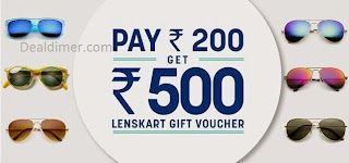 Get Rs. 500 off (no minimum Purchase limit) for Just Rs. 200 – LensKart
