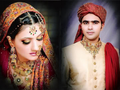 Beautiful Couple wedding Pictures Latest Couple Wedding Dresses Pakistani Couple Wedding Day Pictures Beautiful Pakistani Brides Bridal Dresses Bridal Make Up Bridal Jewellery