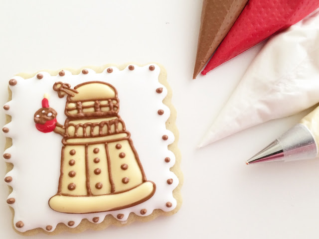 Dr. Who - Birthday Dalek - Dairy Free Cookie - Sweet Jenny Belle