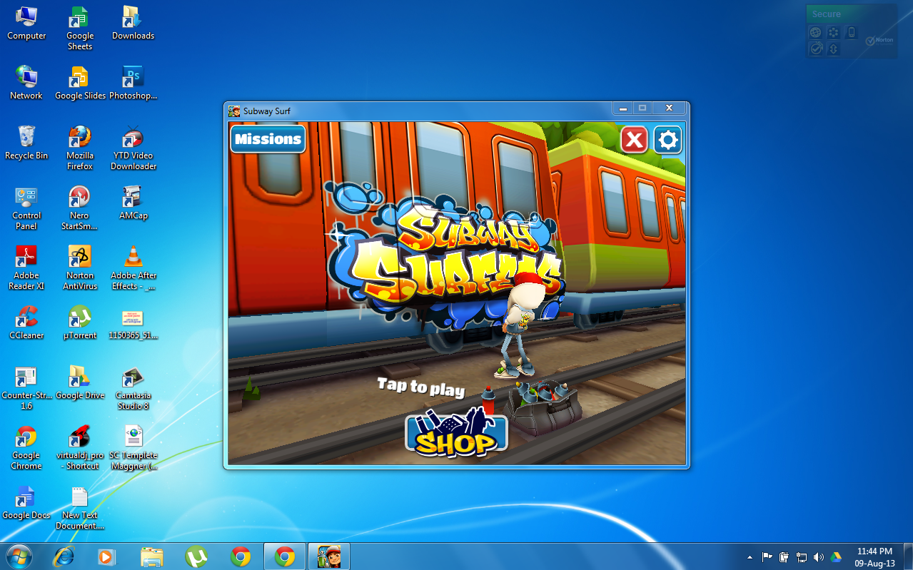 Play Game Subway Surfers Download