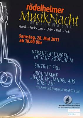 Plakat Rödelheimer Musiknacht