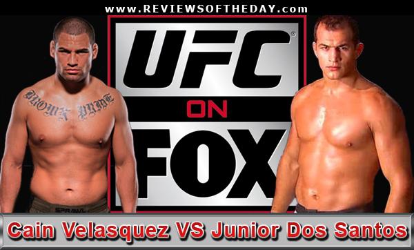 UFC on Fox Velasquez vs Dos Santos Wikipedia the free