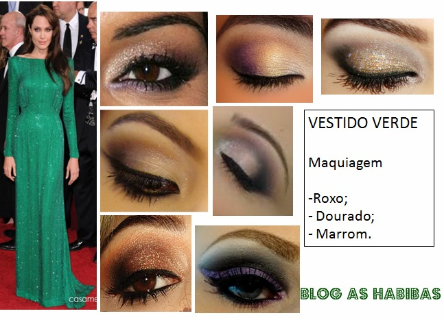Maquiagem para vestido verde passo a passo