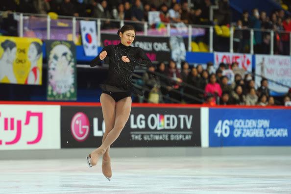 Yu+Na+Kim+ISU+46th+Golden+Spin+Zagreb+Day+aNLW5bCwASel ICE STYLE