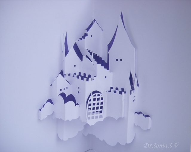 Origamic Architecture Kirigami Pop Up Card
