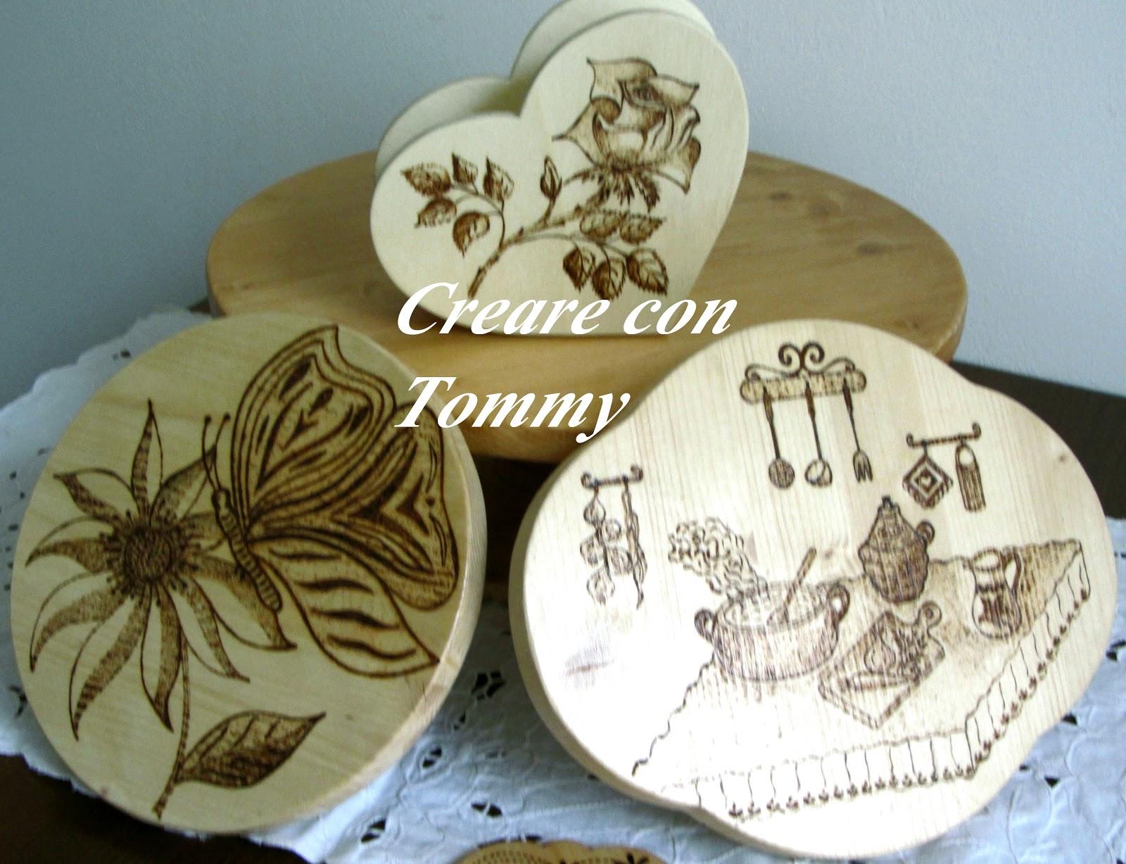 Creare con Tommy: Creazioni in legno per la cucina