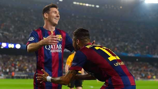 FC Barcelona 3 Ajax 1 - (21/10/2014)