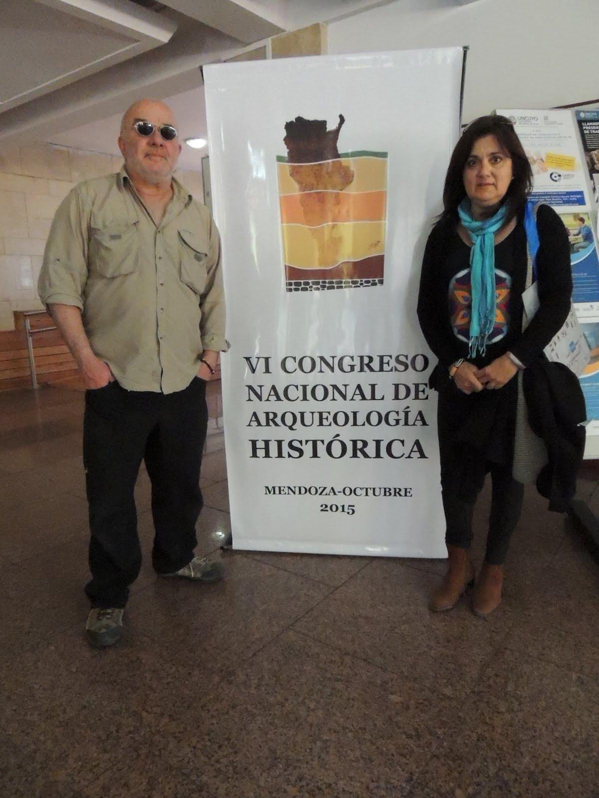 2015. VI CONGRESO ARGENTINO DE ARQUEOLOGIA HISTORICA