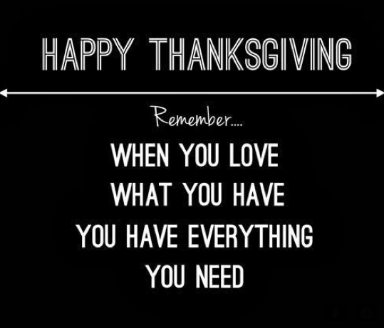 thanksgiving life quote