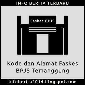 Alamat dan Kode Faskes BPJS Temanggung