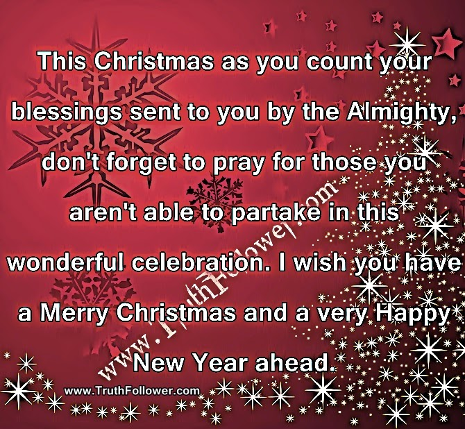 This Christmas as you count your blessings