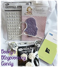 Cards by Becky Blogoversary Candy
