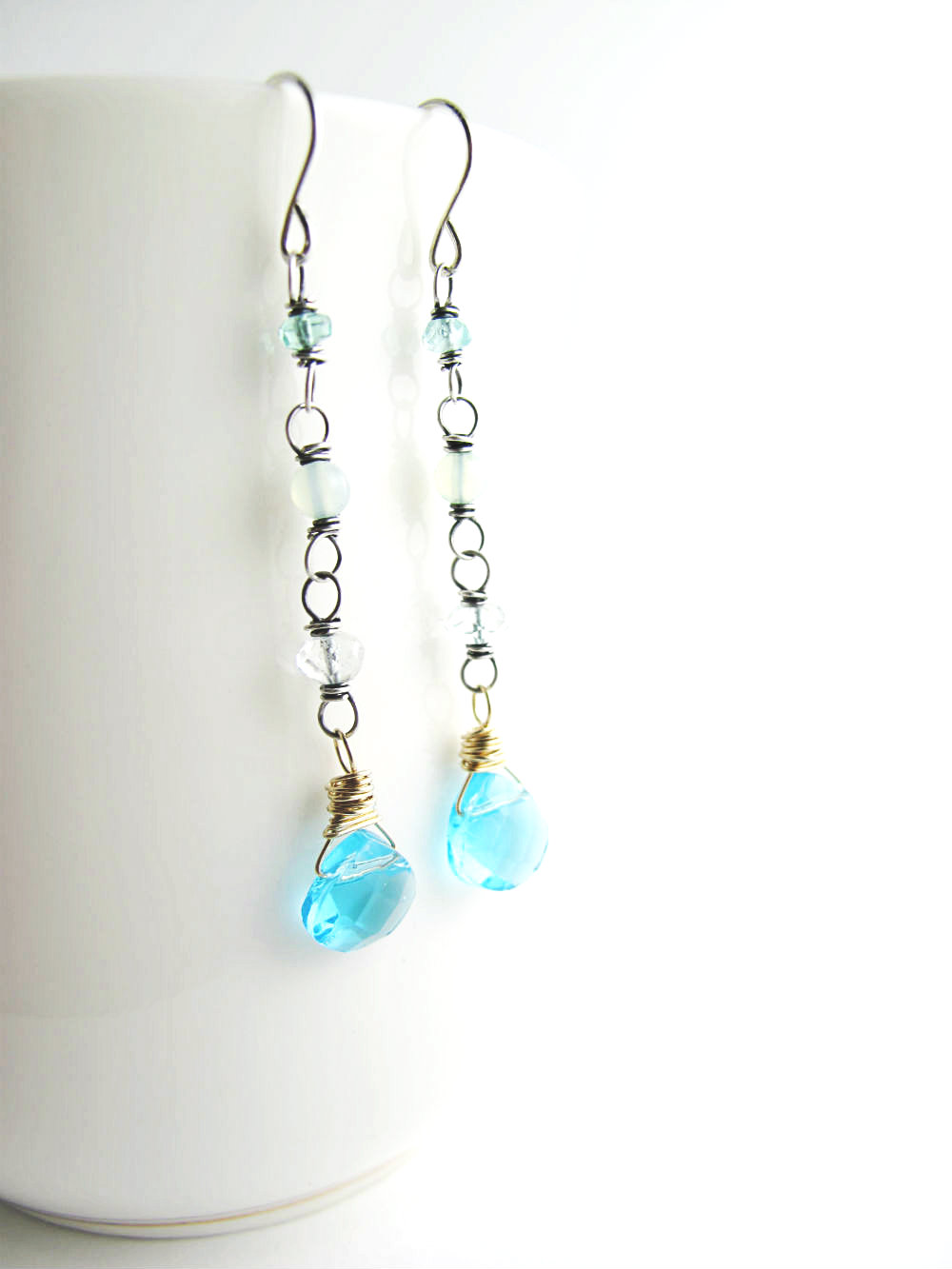 Siren's Song Earrings by Beth Hemmila of Hint Jewelry