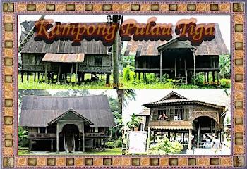 Rumah Kutai Kampong Pulau Tiga
