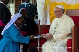 POPE FRANCIS IN UGANDA